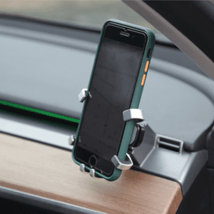 Model 3 RHD Dash Mounted Mobilre Phone Holder phone Holder clamp and phone